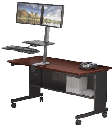 Picture of Balt 90531 Adjustable Sit Stand Workstation