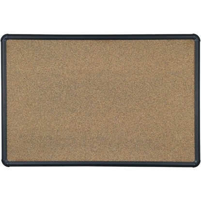 Picture of Balt E300PH-T1 4'H x 8'W Black Splash Cork Board