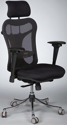 Picture of Balt 34434 Black Mesh Office Chair