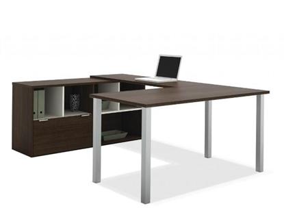 Picture of Bestar 50853 U Shaped Office Desk