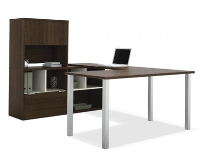 Picture of Bestar 50851 U Shaped Desk with Storage