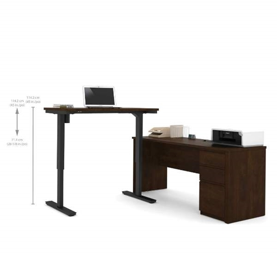 Picture of Bestar 99885 Sit Stand Desk