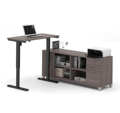 Picture of Bestar 120857 Sit Stand Desk