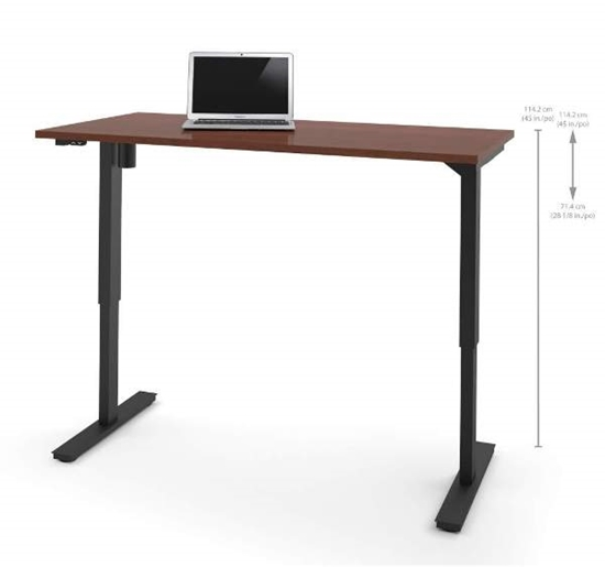 Picture of Bestar 65867 Sit Stand Desk
