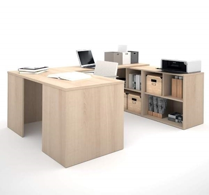 Picture of Bestar 150880 U-Shaped Desk