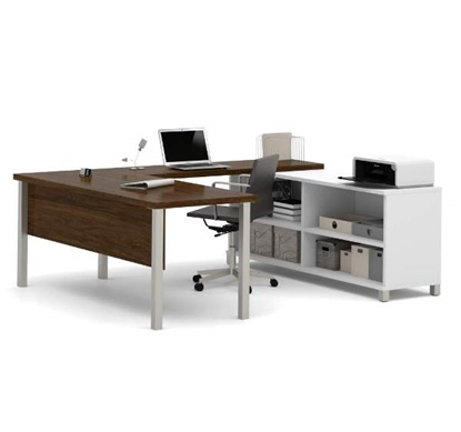 Picture of Bestar 120881 U-Shaped Desk