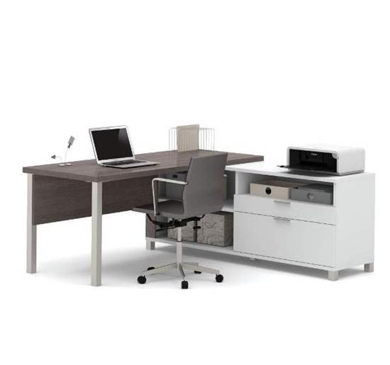 Picture of Bestar 120883 L-Shaped Desk