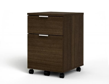 "Picture of Bestar 50640 18"" Mobile Pedestal File Drawers"