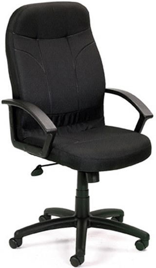 Picture of Boss B8401 High Back Leather Office Chair