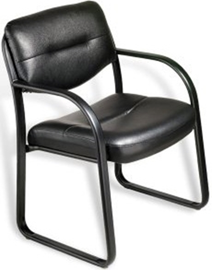 Picture of Boss B9529 Leather Guest Office Chair