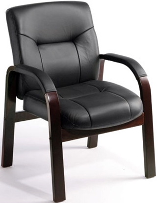Picture of Boss B8909 Leather Guest Office Chair