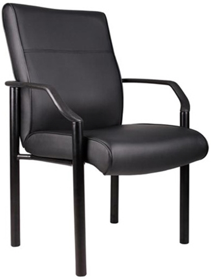 Picture of Boss B689 LeatherPlus Guest Chair