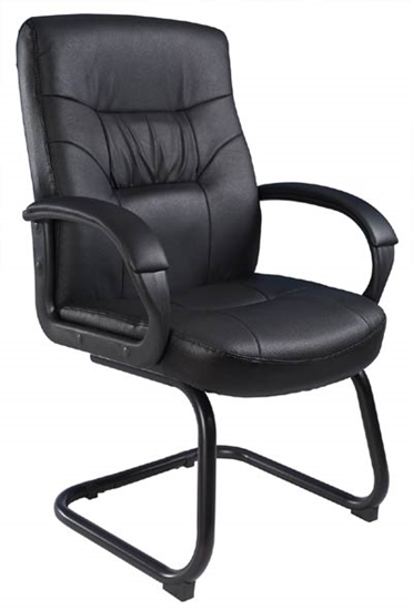 Picture of Boss B7519  Black Guest Chair