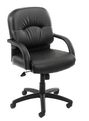 Picture of Boss B7406 Black Office Chair
