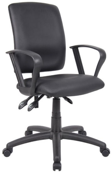 Picture of Boss B3047 Leather Office Chair