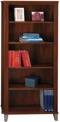 Picture of Bush WC81765-03 5 Shelf Bookcase