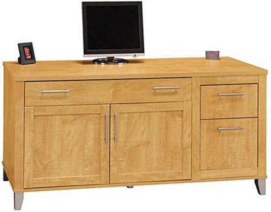 Picture Of Bush WC81429 03 Office Credenza And Drawers