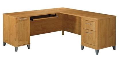 Picture of Bush WC81410-03 L Shaped Desk