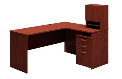 Picture of Bush 3699 L Shaped Corner Office Desk