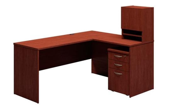 Superbe Picture Of Bush 3699 L Shaped Corner Office Desk