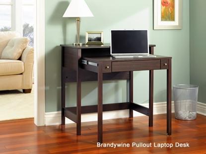 Picture of Bush MY72702-03 Pullout Laptop Computer Desk