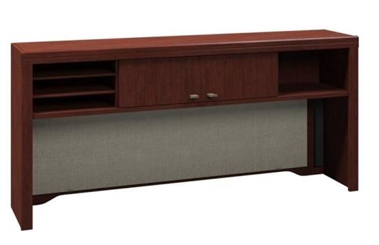 Picture Of Bush 2961 Enterprise 60 Office Desk Hutch