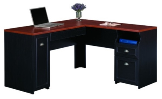 Picture Of Bush WC53930 L Shaped Office Desk
