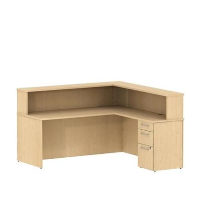Picture of Bush S076 L Shaped Reception Desk