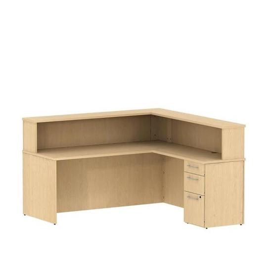 bush s076 l shaped reception desk rh furniturewholesalers com l shaped reception desk white l shaped reception desk revit