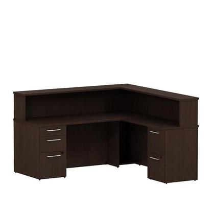Picture of Bush S073 L Shaped Reception Desk