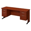 Picture of Bush SRE193 Double Pedestal C-Leg Desk