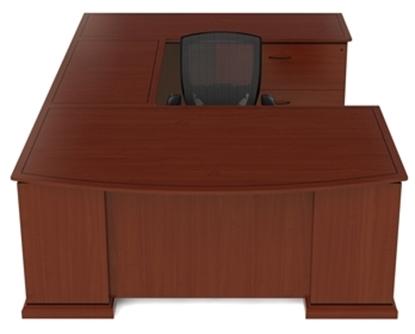 Picture of Cherryman EM-415 U Shaped Desk with Wood Veneer