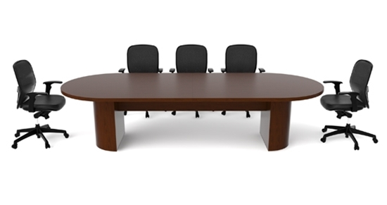 Cherryman JA Conference Table - Wood veneer conference table