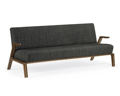 Picture of Community FI2313 Finn Three Seat Sofa w/ Cantilever Arms