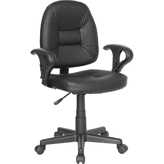 Picture of Flash Furniture BT-682 Leather Task Chair