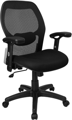 Picture of Flash Furniture W42B Mesh Back Chair