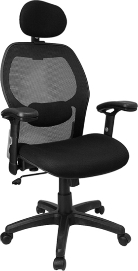 Picture of Flash Furniture LF-W42B Black Mesh Chair
