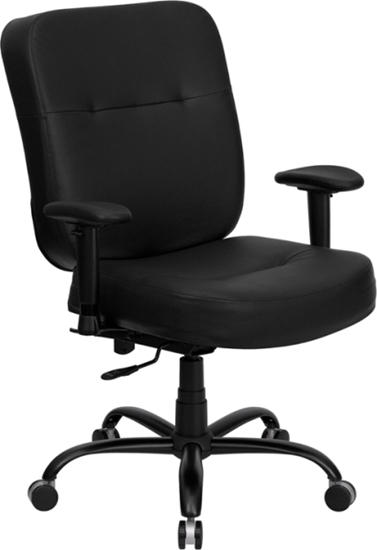 Picture of Flash Furniture WL-735SYG Big & Tall Leather Chair