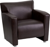 Picture of Flash Furniture 222-1 Leather Guest Chair