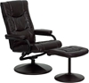 Picture of Flash Furniture BT-7862  Leather Recliner & Ottoman