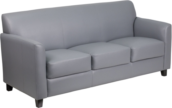 Picture Of Flash Furniture Bt 827 Office Reception Sofa
