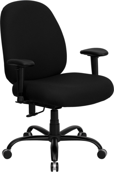 Picture of Flash Furniture WL-715MG Heavy Duty Office Chair