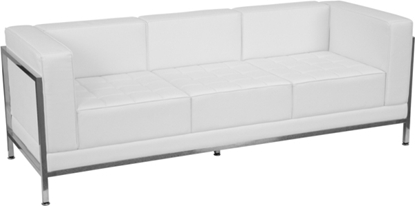 Picture of Flash Furniture ZB-IMAG-Sofa-GG White Waiting Room Sofa