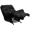 Picture of Flash Furniture WM-8700 Black Leather Recliner