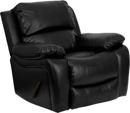 Picture of Flash Furniture MEN-DA3439 Black Leather Recliner