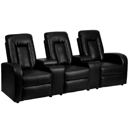 Picture of Flash Furniture BT-70259-3 3 Chair Home Theater Seats