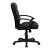 Picture of Flash Furniture GO-1004 Black LeatherSoft Office Chair