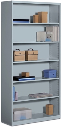 Picture of Global 91SBC6-36 Metal Bookcase