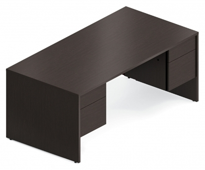 "Picture of Global G3672DP 72"" Office Desk"