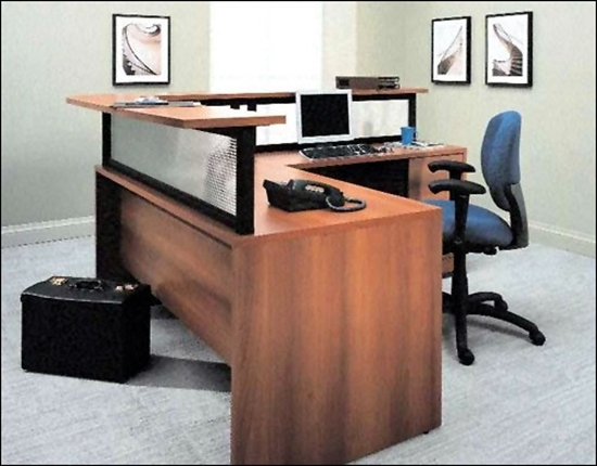 Picture of Global G3060SPL L Shaped Reception Desk